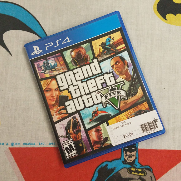 Grand Theft Auto V GTA V PS4 PlayStation 4
