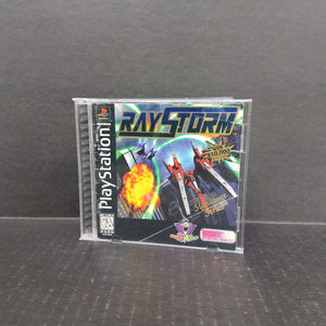 RayStorm PS1 PlayStation