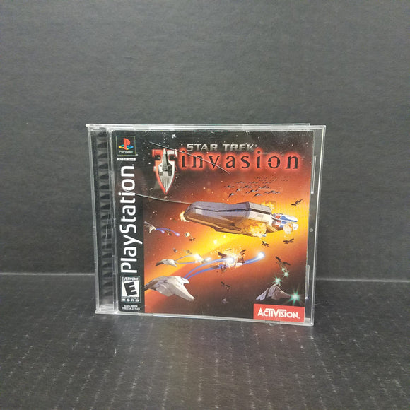Star Trek Invasion PS1 PlayStation