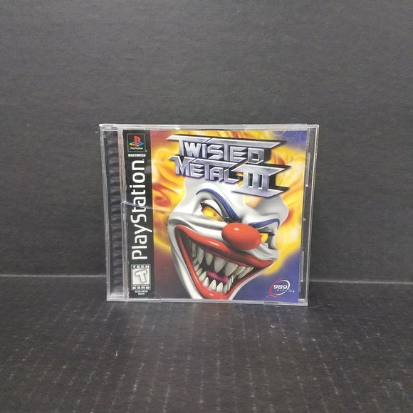 Twisted Metal III PS1 PlayStation