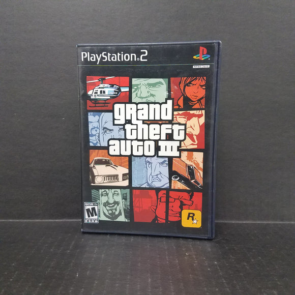 Grand Theft Auto III GTA PS2 PlayStation 2