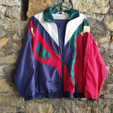 Vintage Blair Boutique Windbreaker Track Suit Size XL w/ Pants