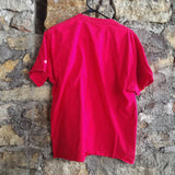 Plain Red Champion Shirt SIZE L