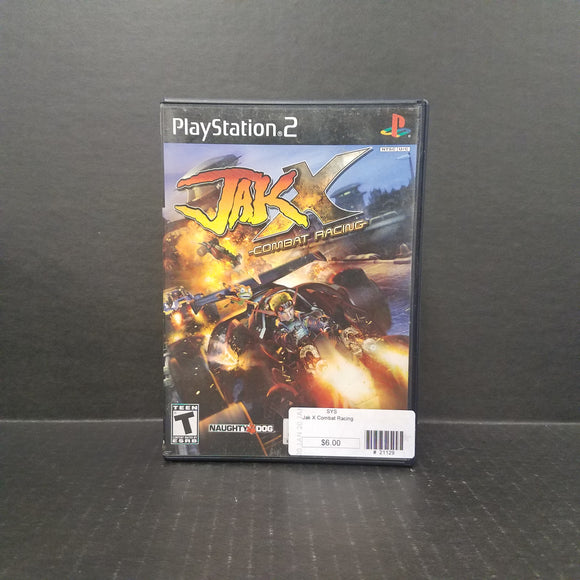 Jak X Combat Racing PS2 PlayStation 2