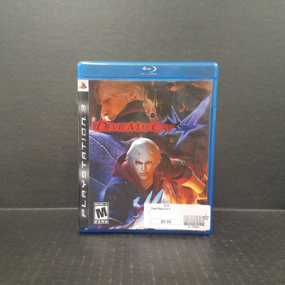 Devil May Cry 4 PS3 PlayStation 3