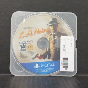 L.A. Noire PS4 PlayStation 4 [DISC ONLY]