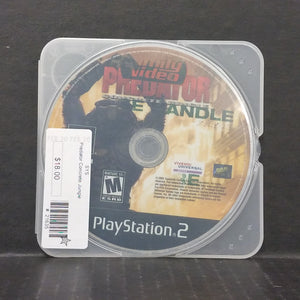 Predator Concrete Jungle PS2 PlayStation 2 [DISC ONLY]