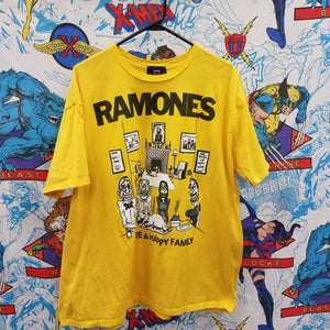 Ramones We're A Happy Family Shirt SIZE 2XL