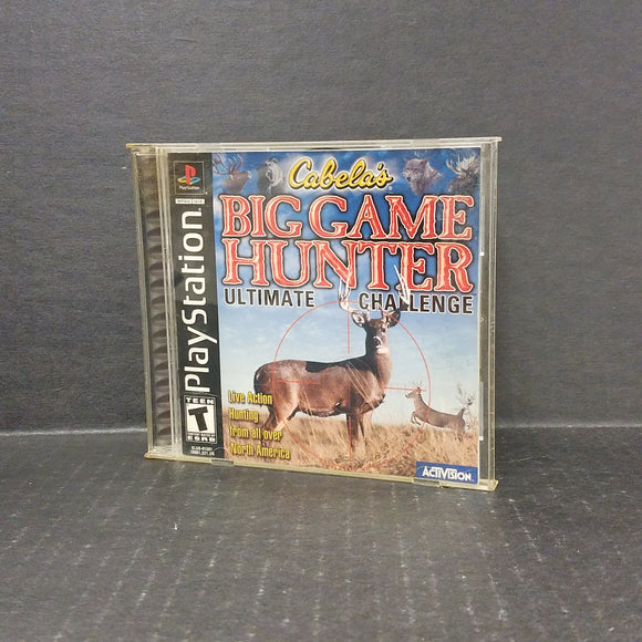 Big Game Hunter Ultimate Challenge PS1 PlayStation
