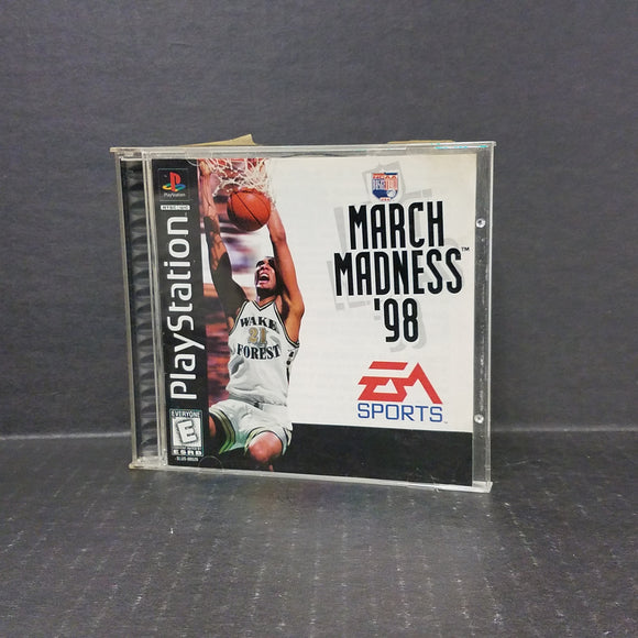 NCAA March Madness 98 PS1 PlayStation