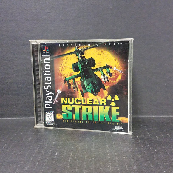 Nuclear Strike PS1 PlayStation
