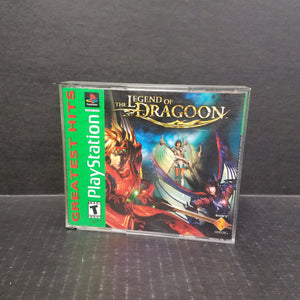 Legend of Dragoon PS1 PlayStation
