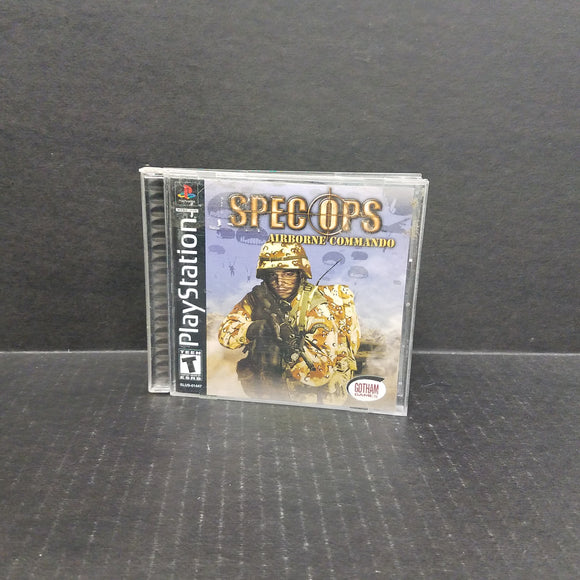 Spec Ops Airborne Commando PS1 PlayStation