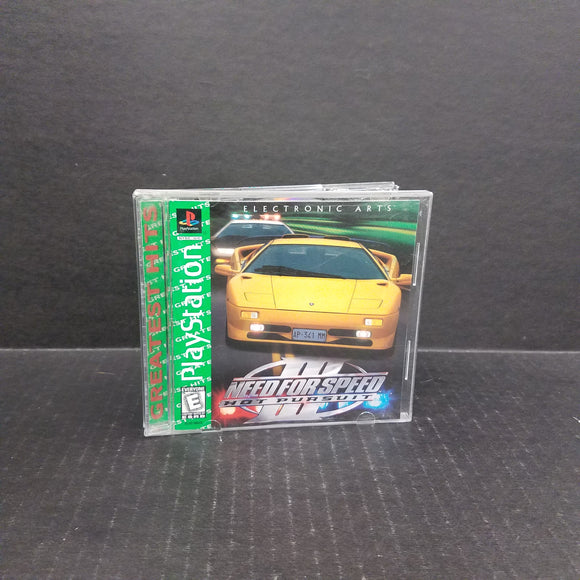 Need for Speed III Hot Pursuit PS1 PlayStation
