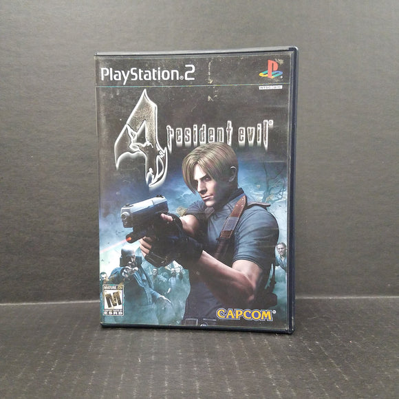 Resident Evil 4 PS2 PlayStation 2