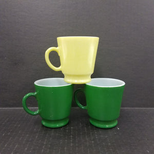 Set of 3 Vintage Hazel Atlas Mugs