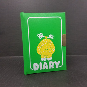Vintage C. R. Gibson 1 Year Diary with Key