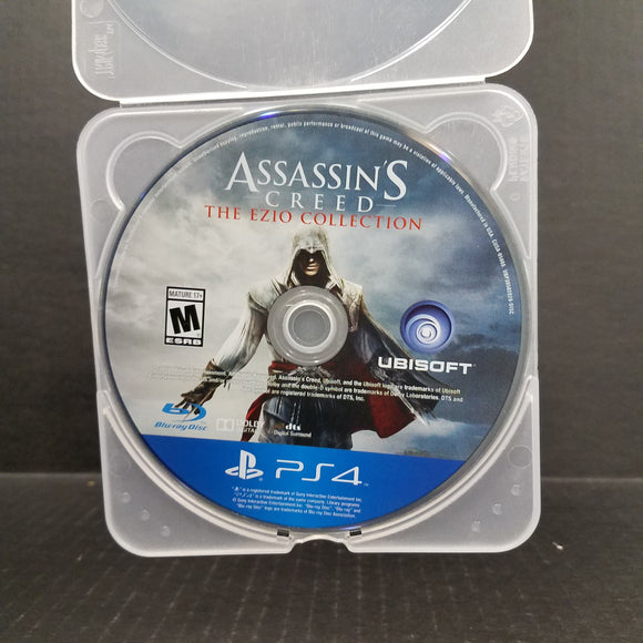 Assassin's Creed Ezio Collection PS4 PlayStation 4 [DISC ONLY]