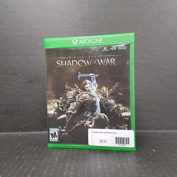 Shadow of War Xbox One