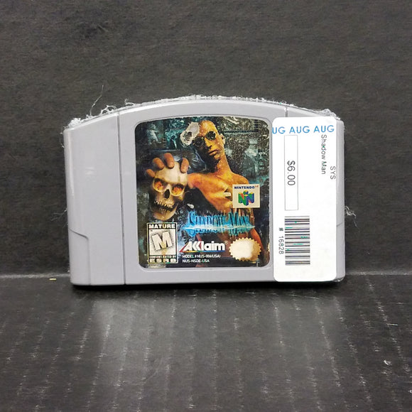Shadow Man Nintendo 64 N64