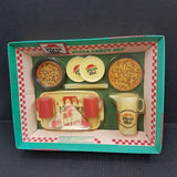 Vintage Chilton Globe Pizza Hut Pizza Party Set