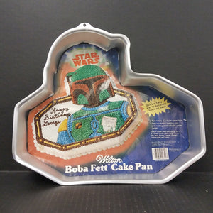 Vintage Star Wars Boba Fett Cake Pan by Wilton