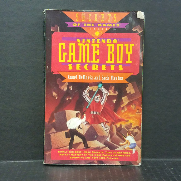 Nintendo Game Boy Secrets Book
