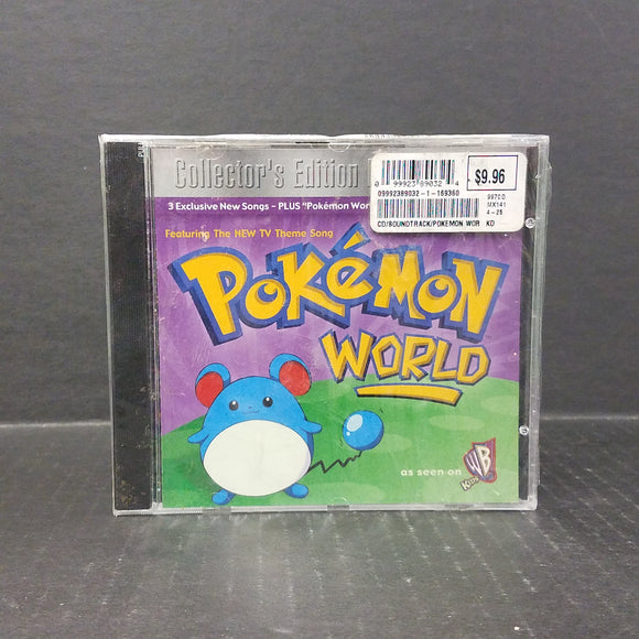 NEW 1999 Pokemon World CD Collector's Edition
