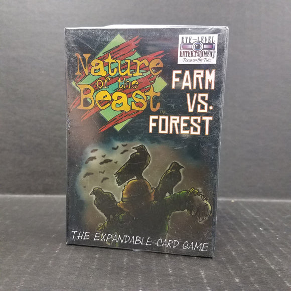 Nature of the Beast Card Game Farm vs Forest NEW