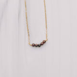 Beaded Garnet Necklaces