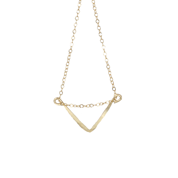 Mini V Shantel Short Necklace - Lux Reve