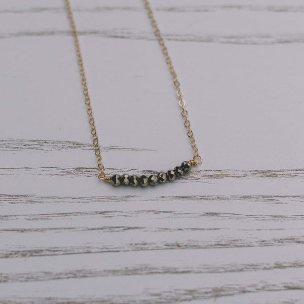 Pyrite Short Necklace