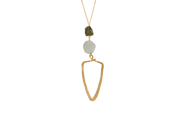 Fabia Long Necklace - Lux Reve