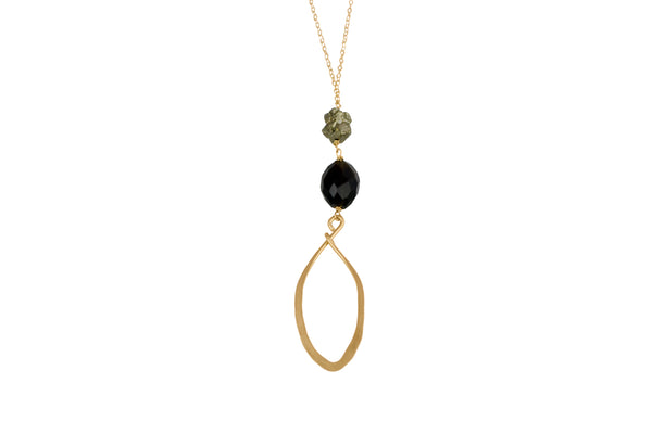 Halina Long Necklace