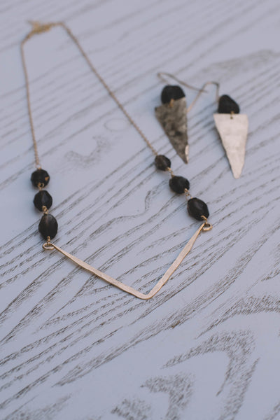 Annabella Smokey Quartz Necklace