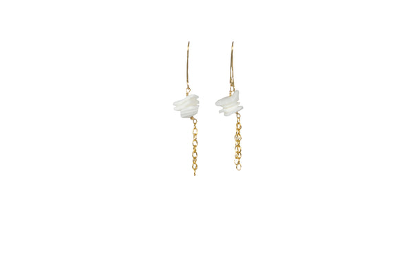 Sea Shell Dangle Earrings - Lux Reve