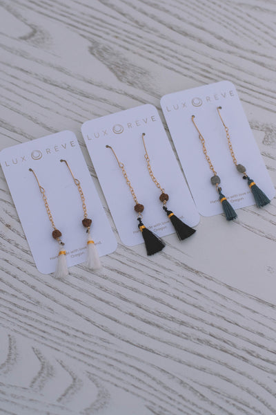 Tassel Dangle Earrings - Lux Reve