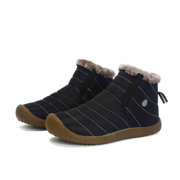 Waterproof Unisex Synthetic Fur Boots
