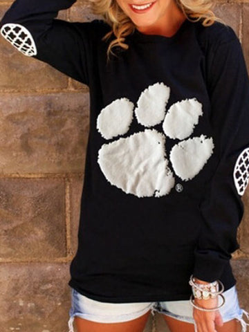 Bear paw  Casual Sweaters