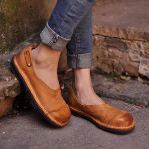Soft Pu Flat Heel Spring/fall Loafers