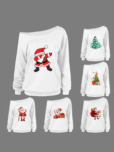 2018 Fashion 6 Sets Cute Merry Ugly Christmas Pullover Xmas Jumper Sweatshirt