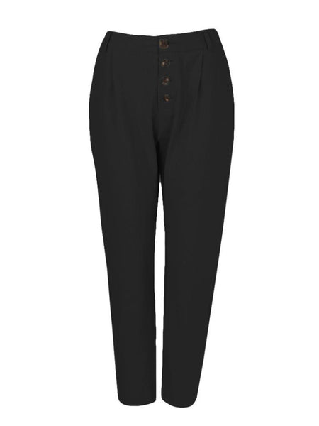 New Style trousers with plain buttoned pockets