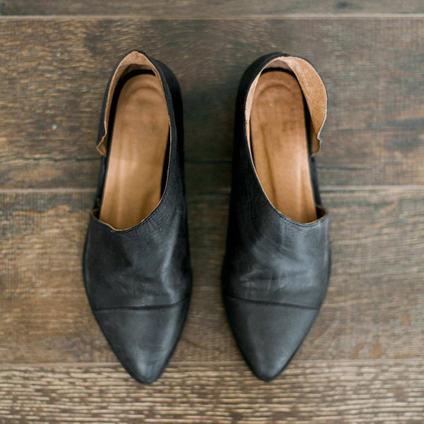 Simple Comfort Pointed Toe Shoes