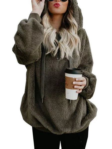 Casual Daily Wool Winter Hoodie