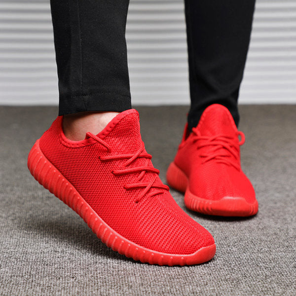 Bonnie Knit Athletic Shoes Breathable Lace-up Women Sneakers