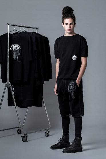 COLD TEAR  - DOUBLE LAYER SHORTS