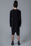 BALANCED ALIEN - 3/4 LENGHT BAGGY JUMPSUIT