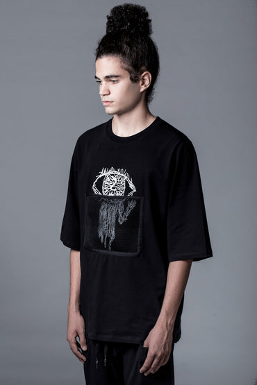 MYSTERIOUS EYE -  OVERSIZED TEE