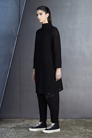 REVERSIBLE NINJA TUNIC - DUOLOGIA AW18 SIDE B