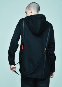 BACK ZIPPER ANORAK